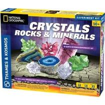 Ciencias De La Tierra Cristales Rocas Y Minerales