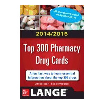 Top 300 Pharmacy Drug Cards (2014-2015), Jill M Kolesar