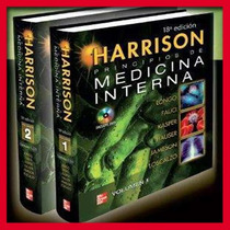 Libro De Medicina Interna Harrison Volumen 1 Y 2, A Color