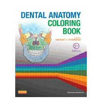 Dental Anatomy Coloring Book, Margaret J Fehrenbach