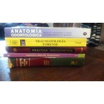 5 Libros De Odontología Por $1200 Forense Patología Protesis