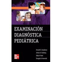 Examinación Diagnóstica Pediátrica Pdf