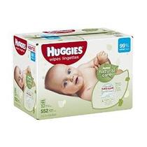 Huggies Natural Care Bebé Wipes Refill, 552 Conde