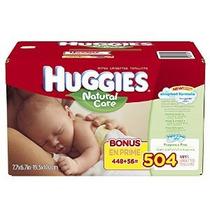 Huggies Natural Care Bebé Wipes Refill Conde 504