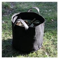 Vivosun Hidropónica Tela Grow Bolsas / Pot Con Asas Negro 5p