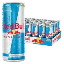 Red Bull Sin Azúcar Energy Drink 8,4 Onza Latas 24 Pack