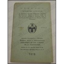 Libro Masonería * Directorio Cuerpos De Jurisdicción 1979
