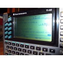 Calculadora Texas Instruments Ti 92