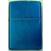 Encendedor Zippo Cerulean Azul Electrico Nuevo!! Original!!