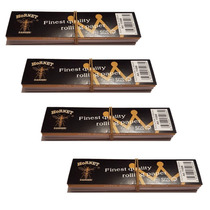 Papel King Size + Tips Fumar Rolar Tabaco Sábanas 4 Pack
