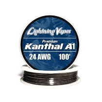 Genuino Rayo Vapes Kanthal 24 Awg A1 Alambre 100 Pies Rollo