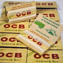 Caja Con 25 Paquetes De Papel Para Liar Ocb Cáñamo Orgánico