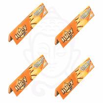 4-pack De Papel De Rolar (sábanas) Juicy Jay´s Sabor Durazno