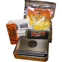 Roladora Automatica + Zig Zag + Smoking De Luxe + Filtros
