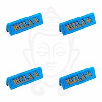 4-pack De Papel De Liar-fumar (sábanas) Rizla 1 1/4