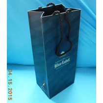 Bolsas De Asa P/botella Johnnie Walker Blue Label 10 Piezas