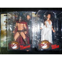 300 King Leonidas Y Queen Gorgo De Neca