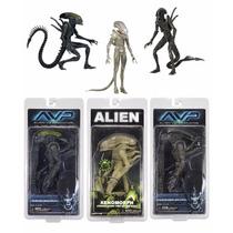 Alien Vs Depredador Serie 7 De Neca Completa 3 Figuras