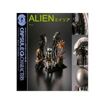 Set De 5 Figuras Alien Gashapon Facehugger Bigchap Kaiyodo