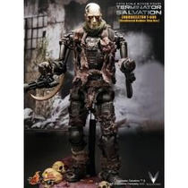 Hot Toys Terminator Edicion Especi Salvation T600 1/6