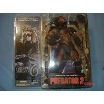 Mcfarlane Predator 2 The Hunter Movie Maniacs 6 Depredador