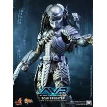 Hot Toys Avp Scar Predator 2.0 Alien Vs Predator