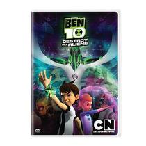 Cartoon Network Ben 10 Destroy All Aliens Dvd