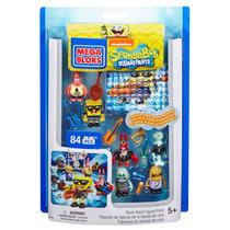 Sponge Bob Rock Band Mega Bloks Set Figuras