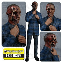 Breaking Bad Gus Fring Burned Face Action Figure.