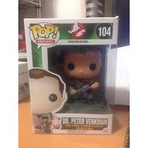 Funko Pop Ghostbusters Cazafantasmas Dr. Peter Venkman Vinil