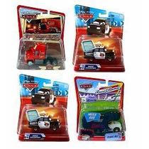 Pelicula Disney Cars Serie De 4 Vehiculos Escala 1:55