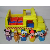 Autobus Escolar Figuras Disney Mattel 1992