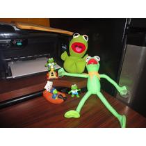 Lote De Muppets Rana Rene