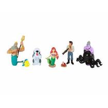 Paquete De Figuras La Sirenita Disney Collection