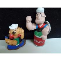 Popeye El Marino Dentro De Una Lata De Espinacas