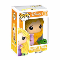 Figura Disney - Rapunzel Y Pascal - Funko Pop!