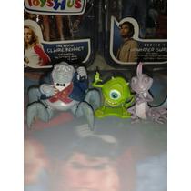 Lote De Tres Figuras De Monters Inc