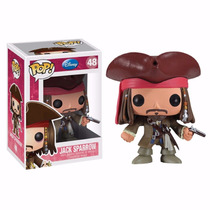 Funko Pop Jack Sparrow 48 Piratas Del Caribe Disney