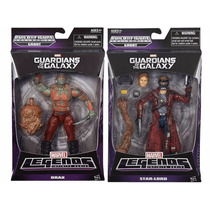 Guardianes De La Galaxia Star Lord Drax Mavel Selects