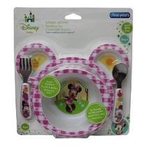 Disney Baby Minnie Mouse 4 Piezas Alimentación
