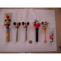 Mickey Mouse Lote De 6 Figuras