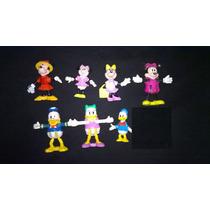 Figuras De Colección De Mickey Y Minnie Mouse, Donald, Pluto