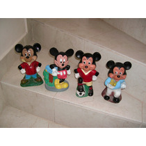 Mickey Mouse Lote De 4 Figuras