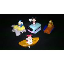 Lote De Figuras De Colección De Mickey Mouse Y Sus Amigos