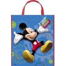 Gran Favor De Plástico Casa De Mickey Mouse Bolsa De 13 X 1