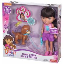 Dora Exploradora Y Perrito Interactiva Dora Y Amigos Remate
