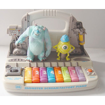 Monster Inc Juguete Scream Factory Piano De Baterias