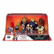 Set Deluxe 10 Figurines Disney Zootopia Disney Store 2016