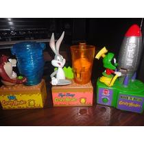 Dispensadores Candy Pez Bugs Bunny Taz Marvin The Martian