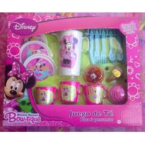 Minnie Mouse Bowtique Juego De Te